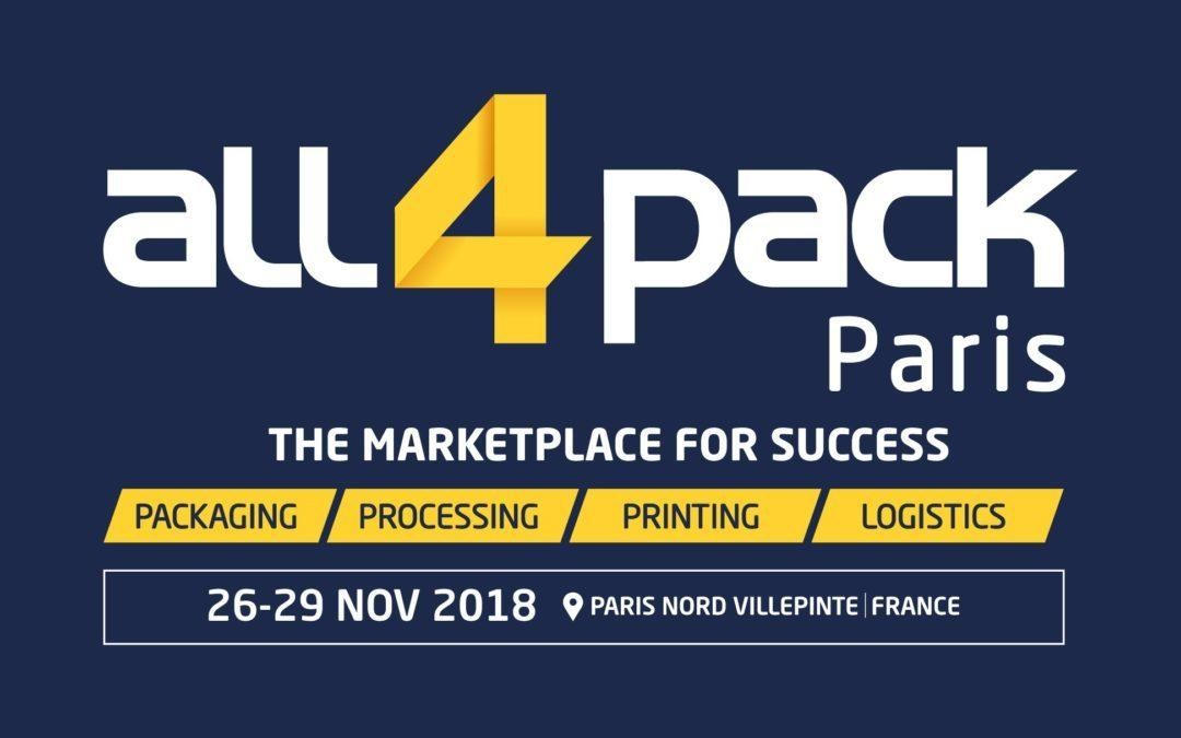 Salon All4pack Paris : Nous y serons !